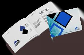 Diseño de logotipo y manual de identidad corporativa